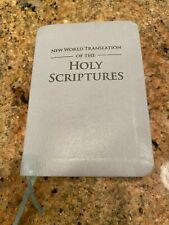 New World Translation of the Holy Scriptures Watchtower 2013 Gray Leather bible