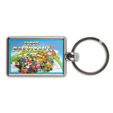 Super Mario Kart Metal Keyring