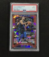 2019-20 Panini Prizm #75 RED Ice  LUKA DONCIC Basketball Card Dallas  PSA 9