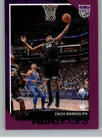 2018-19 Panini NBA Hoops Basketball Purple Parallel Cards Pick From List 1-150