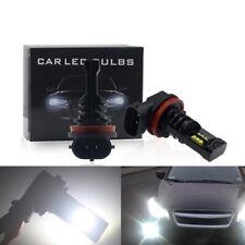 Error Free CREE 12-LED Headlight Kit H8 H11 55W 8000LM 6000K Bulbs Super Bright