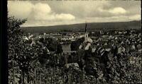 Rottenburg am Neckar Postkarte 1961 Gesamtansicht von den Weinbergen gesehen