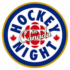 Hockey Night In Canada Logo, 8x10 Color Photo