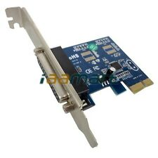 PCI-express to 1-port DB-25 LPT1 Parallel Printer Port Card WCH Chipset