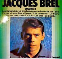 JACQUES BREL les flamandes/la bastille/les blés LP EX++