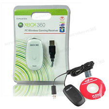 PC Windows Wireless USB Games Receiver Gaming Adapter for Xbox 360 Controller