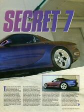 Q21 Clipping-Ritaglio 2005 Mazda RX7 - Code: RX Secret 7 in Lingua Francese