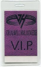Van Halen 1991 Carnal Tour Laminate Backstage Pass! concert Authentic Otto #1