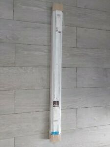 Valla White Sliding Wardrobe Door Track 1200mm