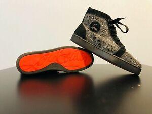 Christian Louboutin Louis Strass Sneakers with Swarovski