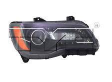 TYC NSF Right Side Black Halogen Headlight Lamp for Chrysler 300 2012-2014