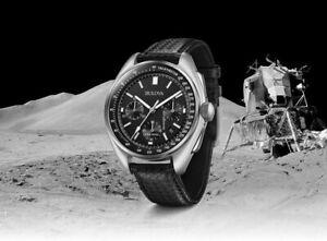 Bulova Special Edition - Moon Apollo Lunar Pilot Chronograph Black - Mens Watch