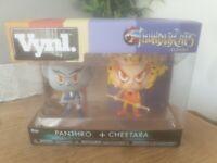 Funko Vynl Thundercats Classic Panthro + Cheetara  New Sealed