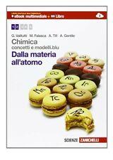 Chimica concetti e modelli blu - dalla materia all'atomo