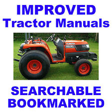 Kubota STa-30 & STa-35 Tractor Service Manual & FRM -2- MANUALS STA30 STA35 CD