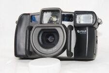 (5605) Fuji Work Record Weatherproof Film Camera Fujinon 28mm F3.5 Lens, EXC!!