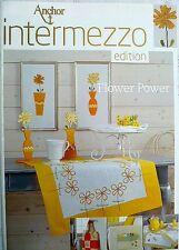 Anchor intermezzo edition Stickvorlage Flower Power