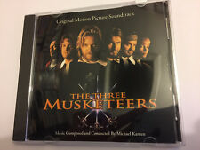 THE THREE MUSKETEERS (Michael Kamen) OOP 1993 A&M Score OST Soundtrack CD NM