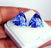 Natural Loose Gemstone 8.00 to 10.00 Ct Blue Sapphire Certified Pairs Best Offer