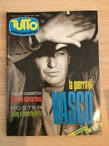 Rivista Tutto Anno XVII n. 3 Marzo 1993 Vasco Rossi