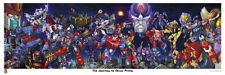 THE JOURNEY TO NEXUS PRIME LITHOGRAPH PRINT; Transformers 2015 BotCon Exclusive!