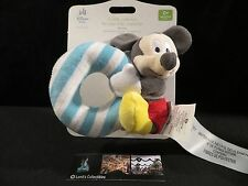 Disney Store Authentic Mickey Mouse Infant plush baby rattle