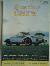 Sporting Cars May 1984 Porsche 911, 205 GTi, MG Montego