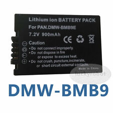 DMW-BMB9 BMB9E Battery for Panasonic DMC-FZ150 FZ100 FZ47 FZ45 FZ40 BMB9PP BMB9