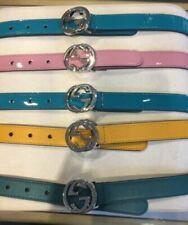 Klostermann per ragazze Cintura in pelle con borchie DIV BB da donna colori V