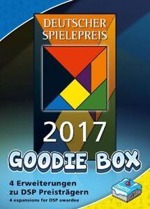DEUTSCHER SPIELEPREIS 2017 - GOODIE-BOX - Spiel - Great Western Trail - OVP