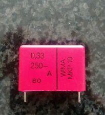 WIMA Polypropylen Kondensator MKP10 MKP 10 0,33 22,5mm 5% 15mm 10% 2 Stück