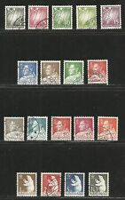 Greenland 1963-68 King Frederik IX/Bear defs--Attractive Topical (48-65) used