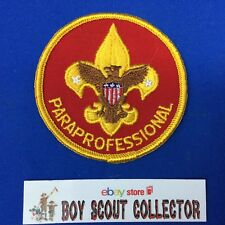 Boy Scout Adult Position Patch Paraprofessional