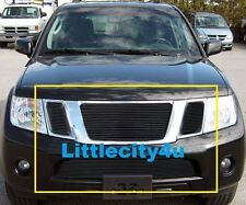 For 2008 09 10 11 12 Nissan Pathfinder Black Billet Grille Grill Inserts Combo