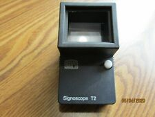 Safe Signoscope T2 Watermark Detector used very little