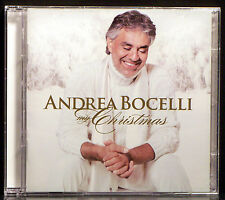 My Christmas by Andrea Bocelli  (CD & DVD, 2009 Decca)