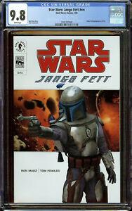 Star Wars: Jango Fett #nn 1 CGC 9.8 WP - 1st Appearance/Boba Fett As Child