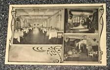 Progettazione di interni ristorante-albergo-pubblico esercizio senza indicazioni ca 1900 EWT. Eiffel