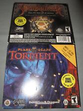 Planescape Torment/Soulbringer - PC Computer CD 2-Video Game Set - NEW & SEALED!