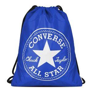 Converse  Turnbeutel  Unisex Sport Freizeit Tasche Gymbag  blau