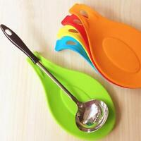 Silicone Spoon Insulation Mat Heat Resistant Placemat Tray Pad Kitchen Tool New