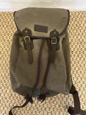 BNWT Barbour Wax Leather Backpack
