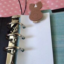 Filofax Today Page Marker Fits All Filofax LIMITED EDIITION Reindeer