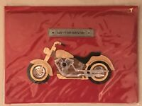 Papyrus - Father's Day Motorcycle greeting card - New in packaging