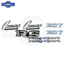 1969 Camaro Rally Sport RS 307 Emblem Kit New