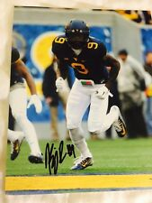KJ Dillon West Virginia Mountaineers signed autographed 8x10 football photo!