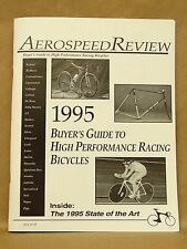 Vtg 1995 Aerospeed Review Racing Bicycle Buyers Guide GT Trek Cannodale Zipp