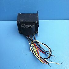 Vintage AC Power Transformer pri: 120V, sec: 71v,10v,11.3+11.3+11.3+16v, #31