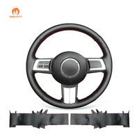 Durable Black Artificial Leather Steering Wheel Cover for Mazda MX-5 RX-8 CX-7