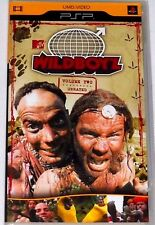 SONY PSP UMD MTV'S WILDBOYZ VOLUME 2-BRAND NEW FACTORY SEALED!!
